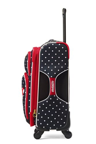 American Tourister Disney Minnie Bow Softside 21 inch Spinner Luggage