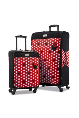 American Tourister Disney Minnie Dots Softside 21 inch Spinner Luggage