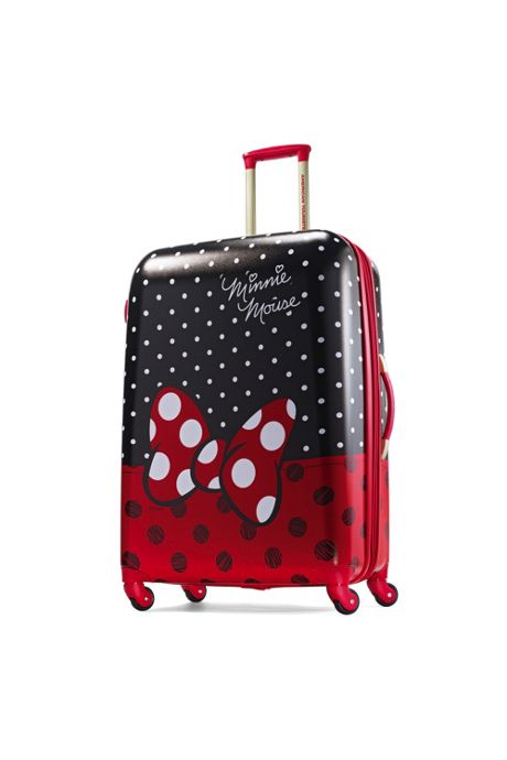 American Tourister Disney Minnie Bow Hardside 28 inch Spinner Luggage