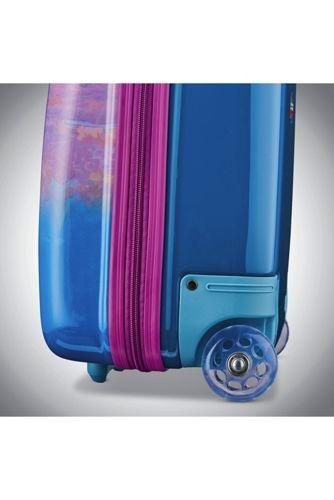 American Tourister Frozen Kids Hardside 16 inch Roller Bag Luggage