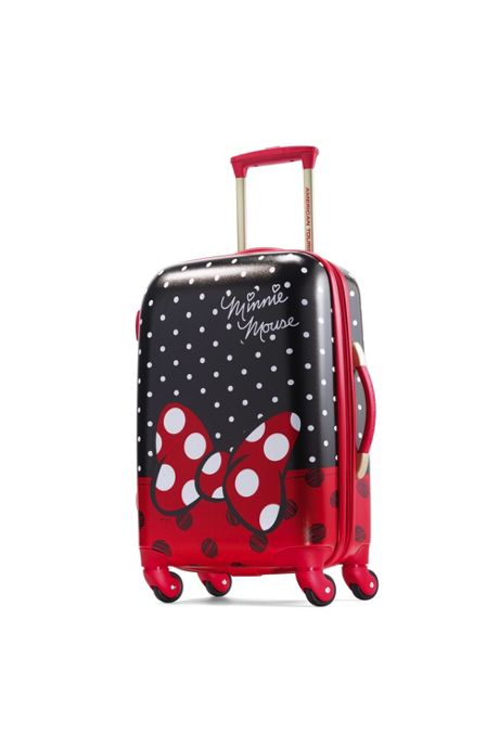 American Tourister Disney Minnie Bow Hardside 21 inch Spinner Luggage