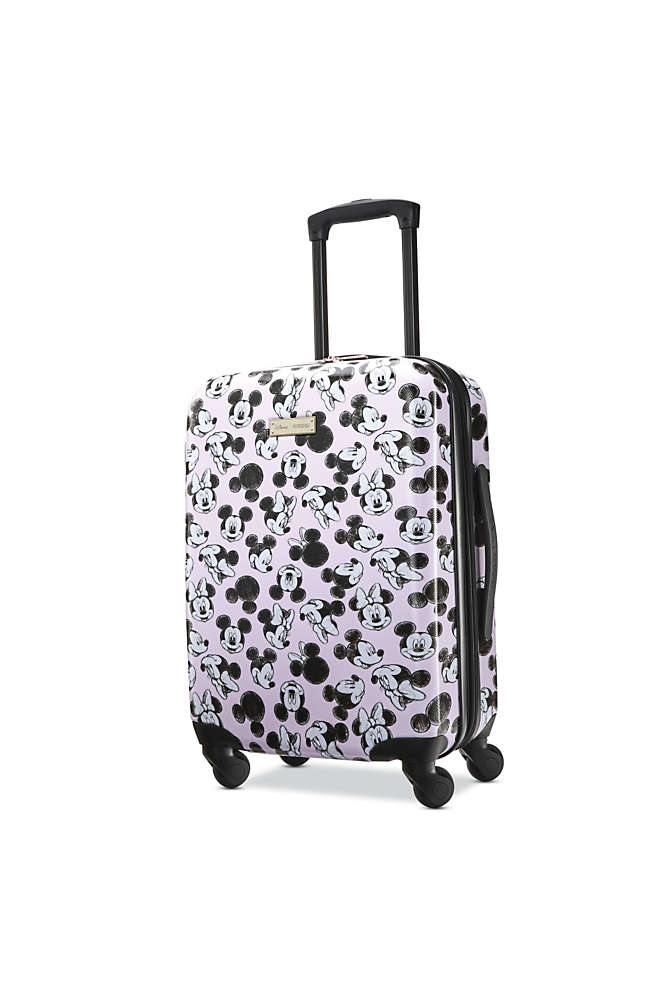 American Tourister Disney Minnie Loves Mickey Hardside 20 inch Spinner Luggage, Front