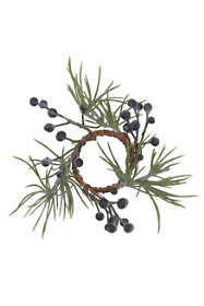 Saro Lifestyle Pine and Berry 5 inch Napkin Rings