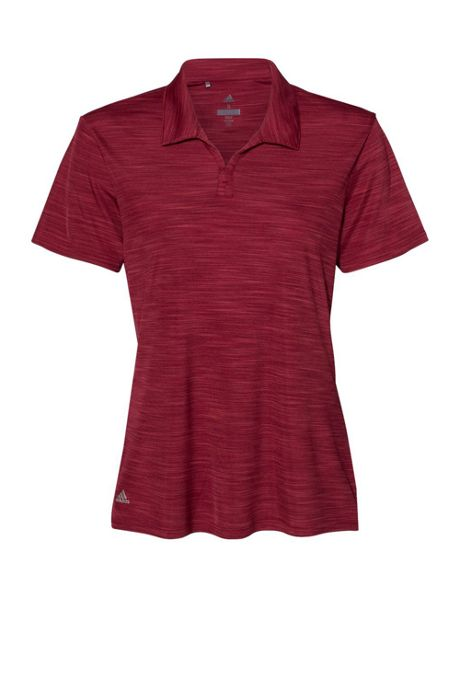 adidas Women's Plus Melange Polo Shirt