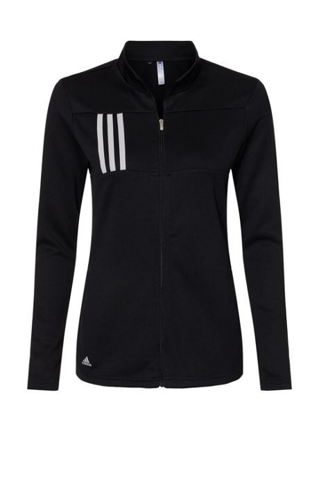 adidas Women's Plus 3 Stripes Full Zip Jacket