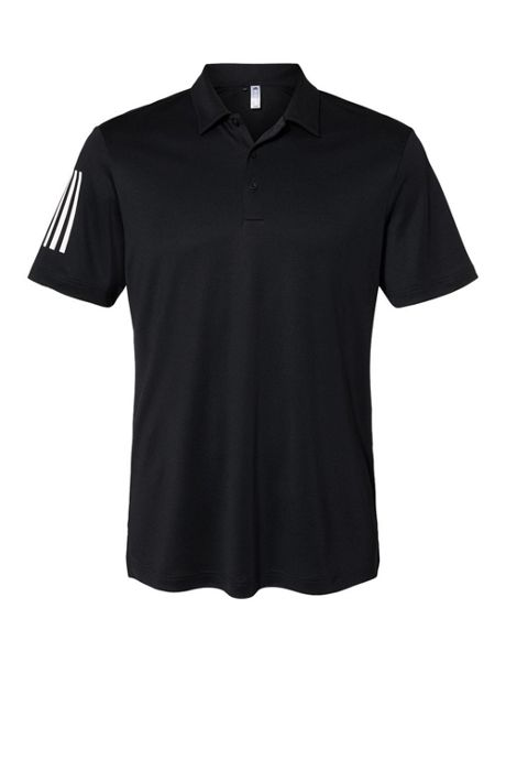 adidas Men's Big Floating 3 Stripes Polo Shirt