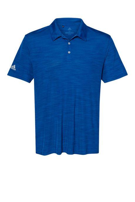 adidas Men's Big Melange Polo Shirt