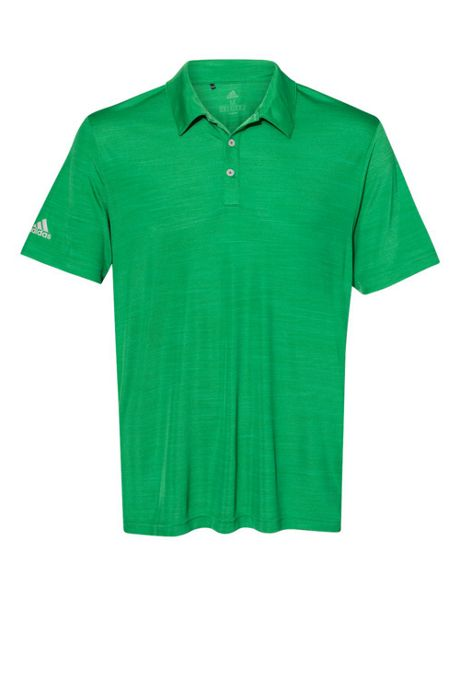 adidas Men's Big Melange Polo Shirt