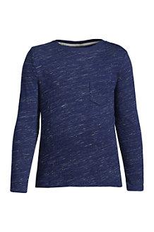 Boys' Long Sleeve Slub T-Shirt