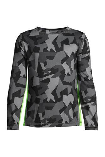 Boys' Long Sleeve Athletic Tee Shirt