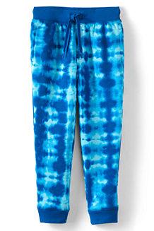 Gemusterte Iron Knees® Fleece-Jogginghose aus Baumwoll-Mix für Kinder
