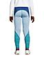 Colorblock Sport-Leggings für Mädchen