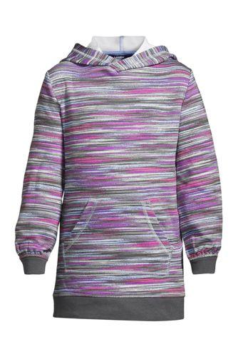 Girls' Long Sleeve Hooded Sweatshirt Dress