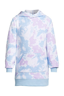 Robe Hoodie à Manches Longues, Fille