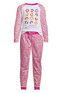Girls' Long Sleeve Graphic Pyjama Set