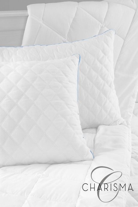Charisma Gel-Infused Memory Foam Cluster Pillow - 2 pack