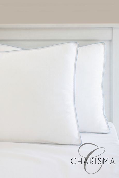 Charisma Gel-Infused Memory Foam and Fiber Hybrid Pillow - 2 pack