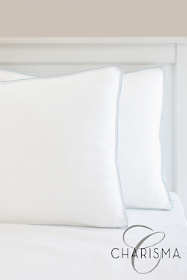 Charisma Gel-Infused Memory Foam and Fiber Hybrid Pillow