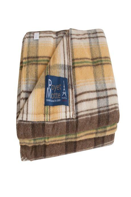 Poyet Motte Chevreuse Plaid Wool Blanket
