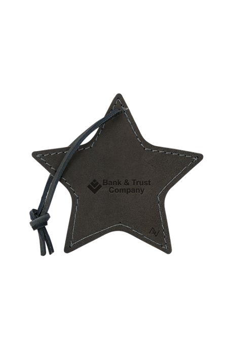 Stella Leather Star Ornament