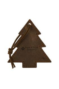 Tannenbaum Leather Tree Ornament
