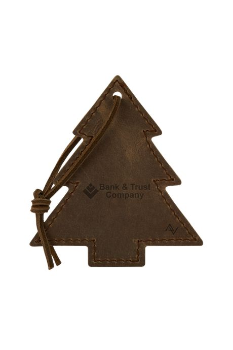 Tannenbaum Leather Tree Ornament