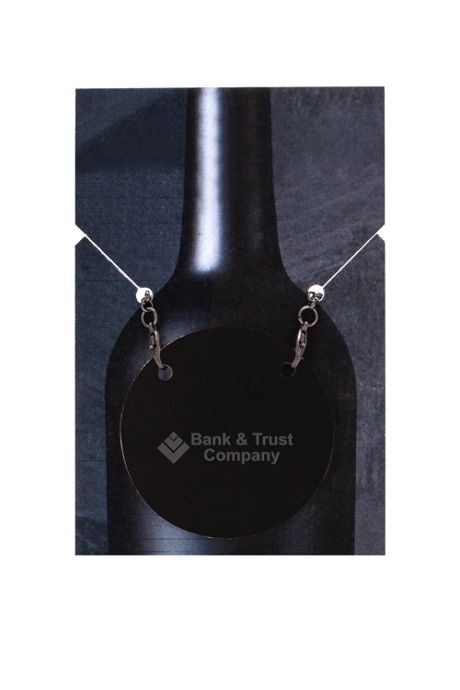 Vineyard Leather Wine Bottle Tag