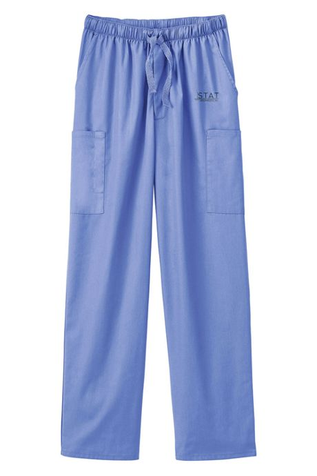 White Swan Fundamentals Unisex Big Plus Size Scrubs Uniform Pants 5 Pocket