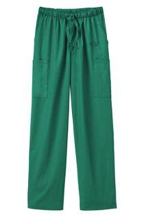 White Swan Fundamentals Unisex Regular Scrubs Uniform Pants 5 Pocket