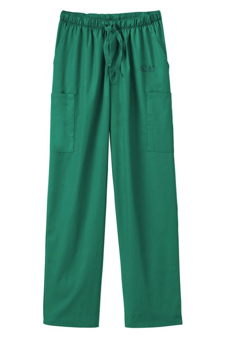 White Swan Fundamentals Unisex Tall Scrubs Uniform Pants 5 Pocket