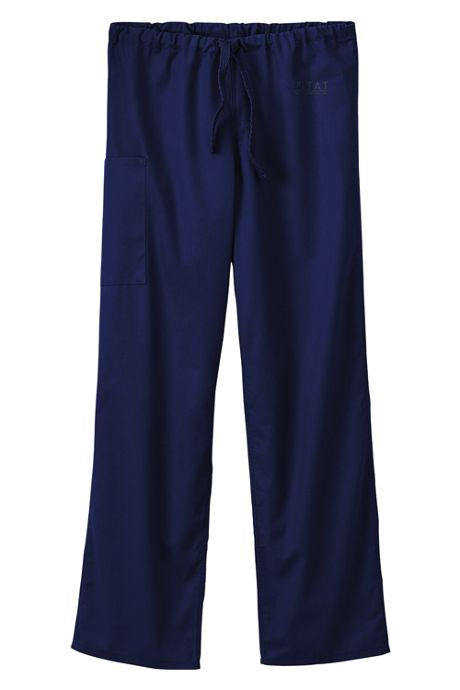 White Swan Fundamentals Unisex Regular Scrubs Uniform Pants 2 Pocket