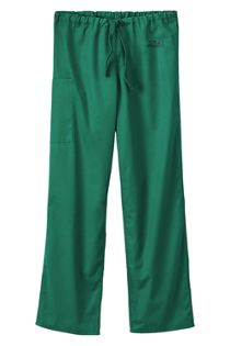 White Swan Fundamentals Unisex Tall Scrubs Uniform Pants 2 Pocket