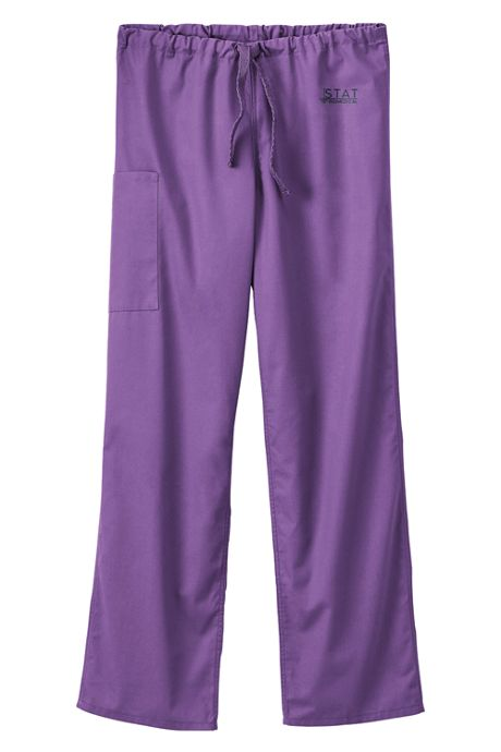 White Swan Fundamentals Unisex Big Tall Scrubs Uniform Pants 2 Pocket