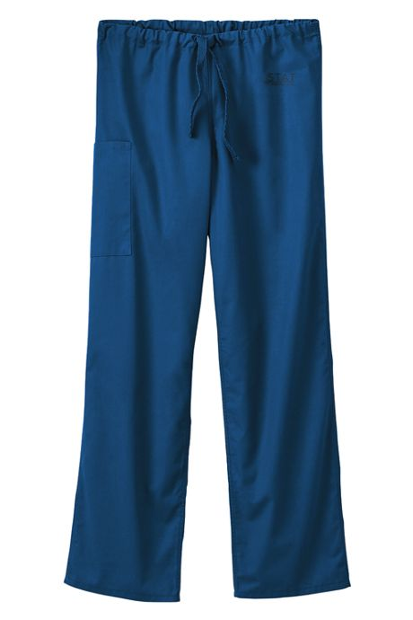 White Swan Fundamentals Unisex Big Plus Size Scrubs Uniform Pants 2 Pocket