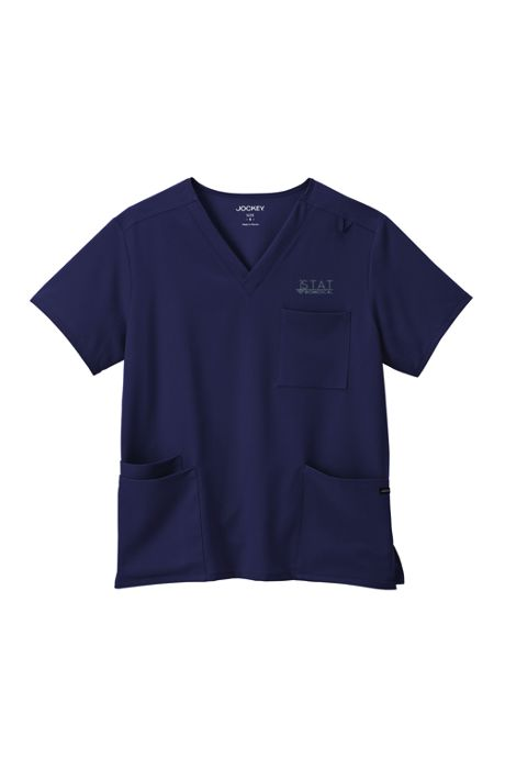 Jockey Unisex Big Plus Scrubs Uniform V-neck Top 4 Pocket