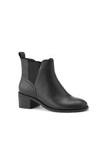 Women's Block Heel Chelsea Boots