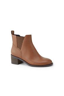 Chelsea-Boots mit Blockabsatz für Damen