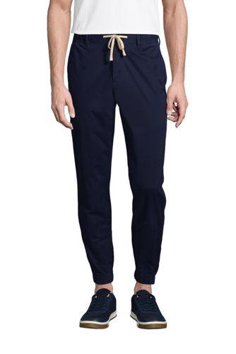 Pantalon de Jogging Casual en Coton Stretch, Homme Stature Standard