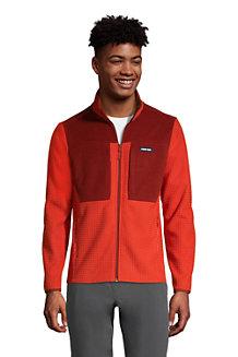 Men's Grid Fleece Jacket
