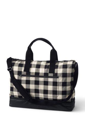 Canvas Reisetasche Gemustert für Damen