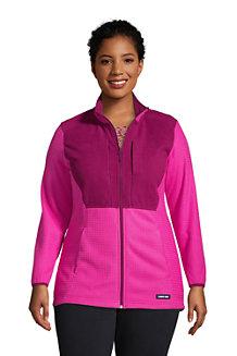 Women's Fleece Grid Jacket