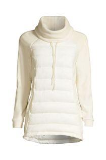 Women's Insulated Hybrid Fleece Pullover