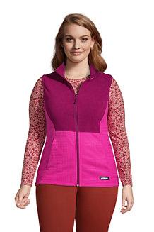 Women's Fleece Grid Gilet