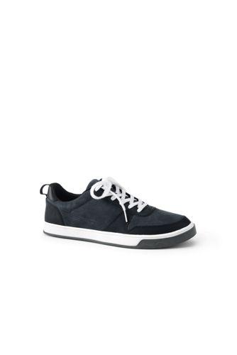 Komfort-Sneaker aus Leder für Herren, weite Passform