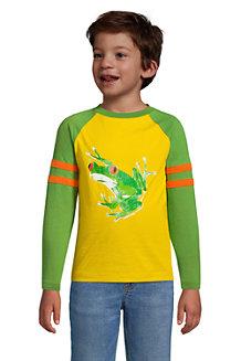 Langärmeliges Raglan-Grafik-T-Shirt für Jungen