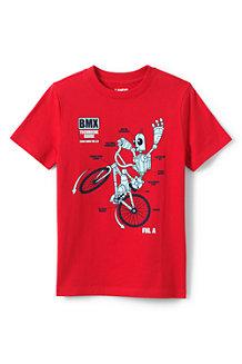 Kurzarm-Shirt mit Grafik für Jungen