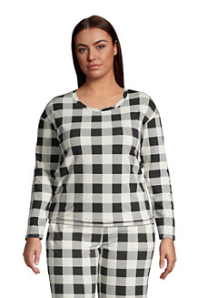 Women's Brushed Jersey Loungewear Pyjama Top