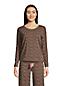 Women's Plus Brushed Jersey Loungewear Pyjama Top