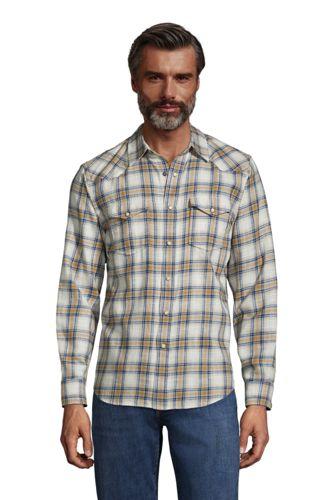 Westernhemd aus Baumwolle für Herren