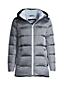 Women's Plus Hooded Wide Channel Down Puffer Jacket